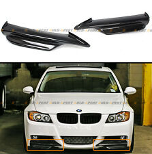 CARBON FIBER FRONT LIP SPLITTER FOR 2006-2008 BMW E90 E91 3 SERIES M TECH BUMPER