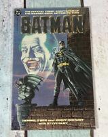 Batman Motion Picture Jack Nicholson Comic Book adaptation NM