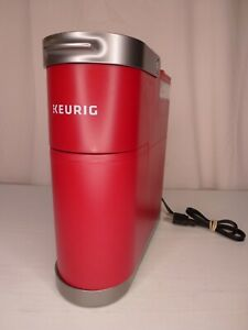 Keurig K-Mini Plus Pod K-Cup Coffee Maker Red W/ K-Cup Storage No Box or Manual