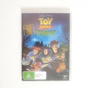 Toy Story of Terror Movie DVD Region 4 AUS Free Postage - Kids Animated