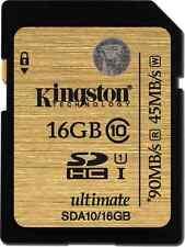 Memory card Kingston per cellulari e palmari con 16 GB di archiviazione