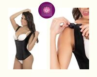 Faja Reductora Tummy Tuck AS4303 Details about  / Powernet Wide Straps Mid Thigh Lipo-Suction