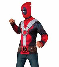 New Deadpool Shirt & Mask Mens Size Std Costume by Rubies 810957 Costumania