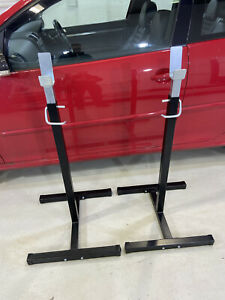 Squat Racks Barbell Stand Adjustable Home Fitness Equipment 280kg Max Load