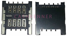 SIM Konnektor Karten Leser Halter Card Reader Connector HTC Sensation XL G21