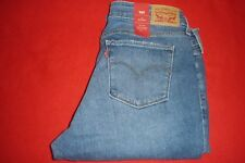 Womens Levi Skinny 711 Hidden Track Blue Jeans size 14M  NWT NEW