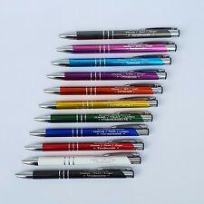 Metall Kugelschreiber mit Ihrer Wunschgravur - Name - Text - Logo - Werbeartikel