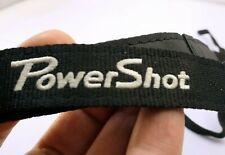 Canon PowerShot Camera Neck Shoulder Strap BLACK-WHITE Genuine 2cm wide