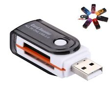 USB 2.0 Mini lector de tarjetas SD M2 TF T-Flash Memory-Nuevo
