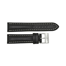 Breitling Black Leather Strap  22-20mm Tang Buckle BT435X-A20BA