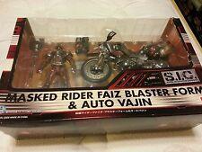 Bandai S.I.C Masked Rider Faiz Blaster Form & Auto Vajin