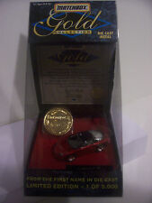 Matchbox, Camaro Z-28, Gold Coin Collection Car