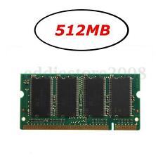 512MB (1x512MB) DDR-333 PC2700 (SODIMM) Memory RAM KIT 200-Pin Laptop Notebook