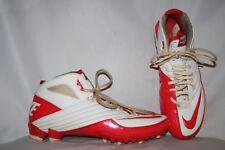 Nike Speed TD Men's Size 10 Orange White Football Sports Baseball Cleats
