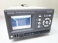 TEKTRONIX MTX100A MPEG RECORDER PLAYER WITH OPTION 01