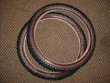 BICYCLE TIRES RED LINE FIT SWING BIKE COLUMBIA SEARS MURRAY OTHERS 20""