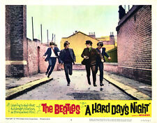 "The Beatles A Hard Days Night Movie Poster Replica 11x14"" Photo Print"