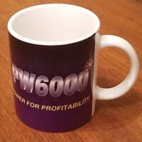 Vintage Pratt & Whitney (P&W) PW6000 Coffee Mug - clean and glossy.