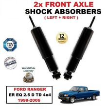 FOR FORD RANGER ER EQ 2.5 D TD 4x4 1999-2006 FRONT LEFT & RIGHT SHOCK ABSORBERS