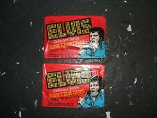 TOPPS ,DONRUSS, ELVIS, NON SPORT CARDS  ( 1978 ELVIS UNOPENED WAX PACKS - 2  )
