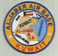 USAF BASE PATCH, AL JABER AIR BASE, KUWAIT