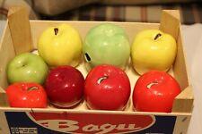 Vintage Glass Fruit  8 pieces