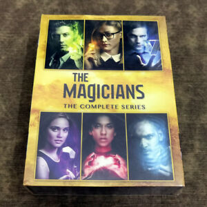 The Magicians Complete Series DVD Region 1 brand new sealed Ships Priority Mail