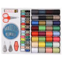 25pcs Sewing Thread Set With Plastic Bobbins Sewing Machine Spools Case