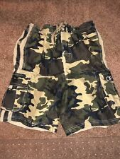 Boys Swim Trunks Large 10/12 Op Ocean Pacific Camo Pattern