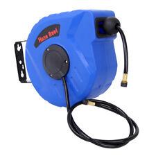 Druckluftschlauch Aufroller Automatik 10m + 1 m PVC Schlauch Schlauchtrommel