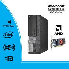 Dell Opti Gaming PC 7020 SFF Intel i7-4770 3.4Ghz 16GB 256GB SSD DVDRW Win WiFi