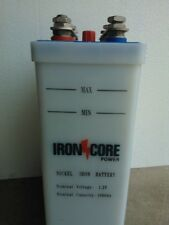 Extreme Deep Cycle NICKEL IRON Battery with FREE TRANSPORT (minimum 5 cells)
