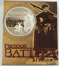 2009 Famous Battles in History - The Battle of Balaklava - 1oz Silver Proof coin