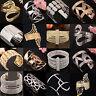 New Fashion Women's Vintage Gold Silver Bangle Punk Cuff Bracelet Jewelry Best
