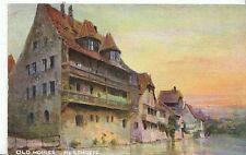 Germany Postcard - Old Houses - Nuremberg   ZZ96