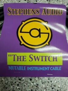 5 PACK..NEW The Switch Cable 15' Bass/Guitar/Instrument Mutable Circuit Breaker