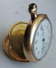 1908 Engraved Waltham, 15 Jewel Model 1900 Size 0S, Pocket Watch ~ 4 repair