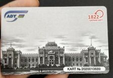 Azerbaijan Railway Pass Plastic Transport Card Train