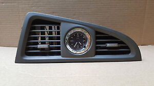01-03 INFINITI QX4 CENTER DASH VENTS CLOCK BEZEL TRIM A/C AIR HEAT HEATER OEM