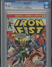 Iron Fist #9. 9.6. CGC. Marvel.  WP!!!
