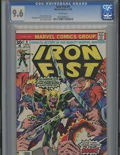 Iron Fist #9. 9.6. CGC. Marvel.  WP!!!