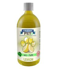 Fresh Pet ECO Dosing Bottle Kennel Cleaner - Kills 99% Germs - 1L - Lemon