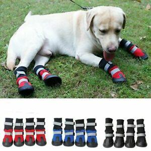Anti Slip Rain Booties Pet Snow Boots Sock Warm Protective Shoes Dog XS/S/M/L/XL