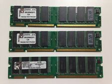 RAM  MEMORY Kingston DDR 3x512MB SDRAM KVR133X64C3 - TESTED