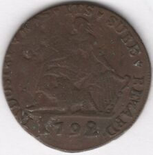More details for 1792 ireland industry has its sure reward halfpenny token   pennies2pounds