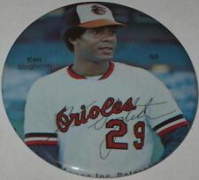 """1981 Baltimore Orioles Ken Singleton Pin 3"""" #88"""