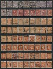GB 185 different Commercial Overprints QV KEVII KGV KGVI QEII