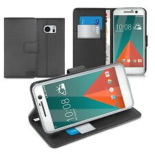 ORZLY Case For HTC 10 Multifunctional Wallet Cases Cover  for HTC10 - Black