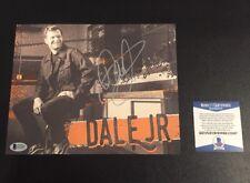"Dale Earnhardt Jr Beckett Signed 8""x10"" Photo Autographed"