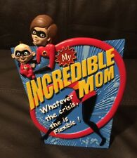 "Disney Pixar The Incredibles ""My Incredible Mom ""Desk Picture Art Frame New"